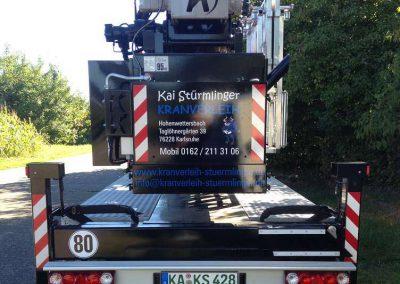 Kranverleih Kai Stürmlinger Karlsruhe